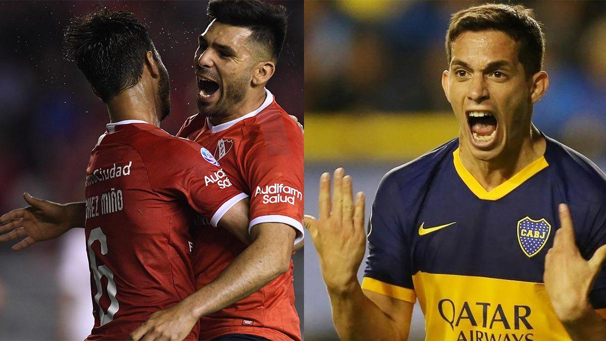 Independiente y Boca podrían concretar un trueque que involucra a cinco jugadores.