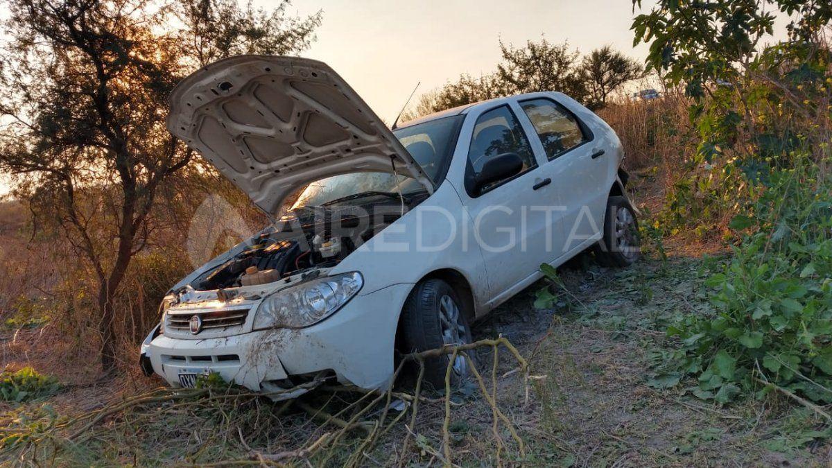 Accidente en Circunvalación: un auto cerró a otro y se escapó
