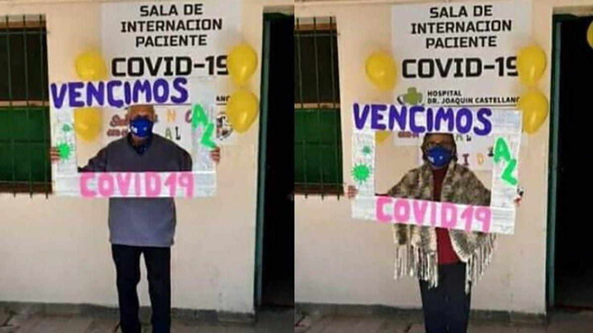 La familia Pastrana festejó el alta tras recuperarse de coronavirus en Salta.
