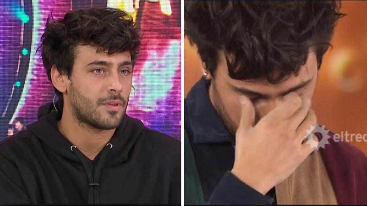 Lizardo Ponce lloró en la pista del Cantando 2020