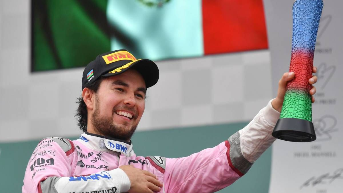 El mexicano Sergio Checo Pérez fue aislado por prevención y está en duda su presencia en el GP de Silverstone.