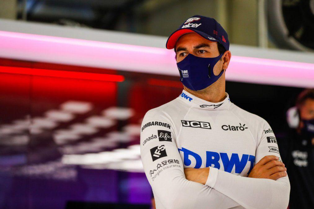 El mexicano Sergio Checo Pérez es el primer piloto de la Fórmula 1 en dar positivo por covid-19.