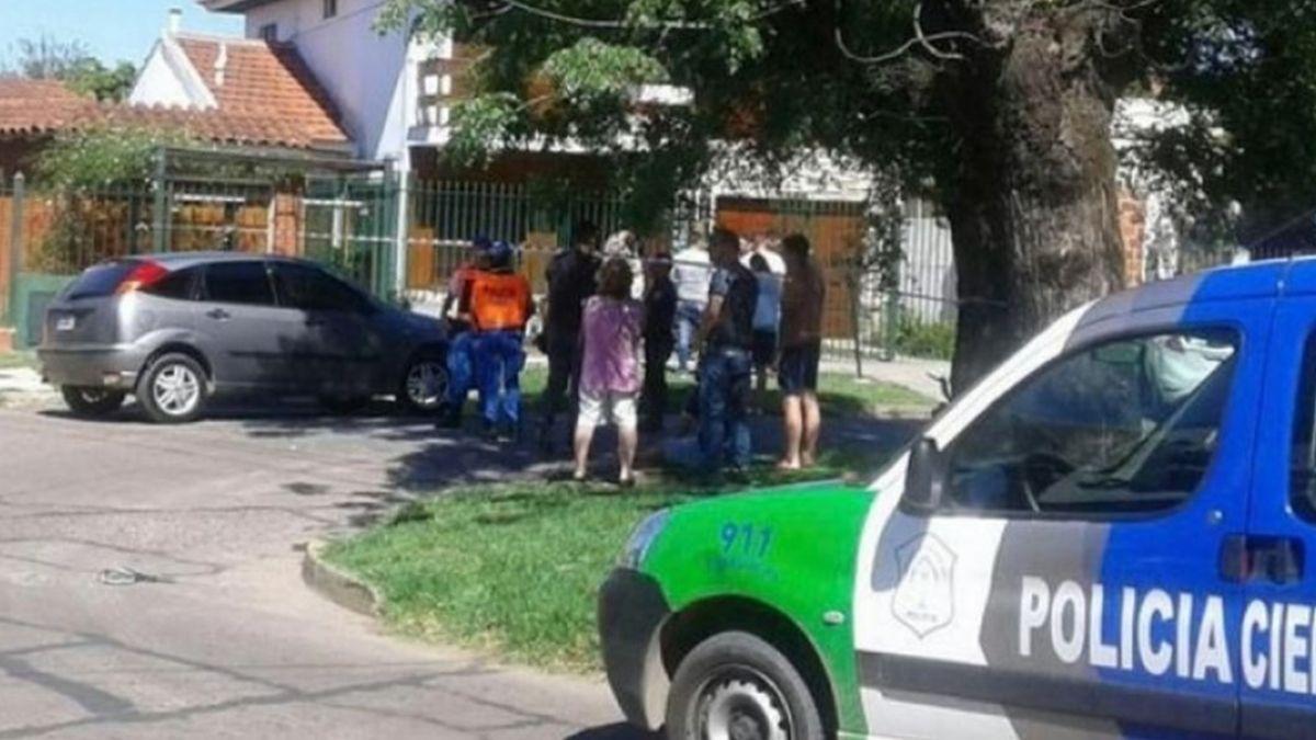 Video desesperante: así le robaron el auto con su hijo de seis años adentro