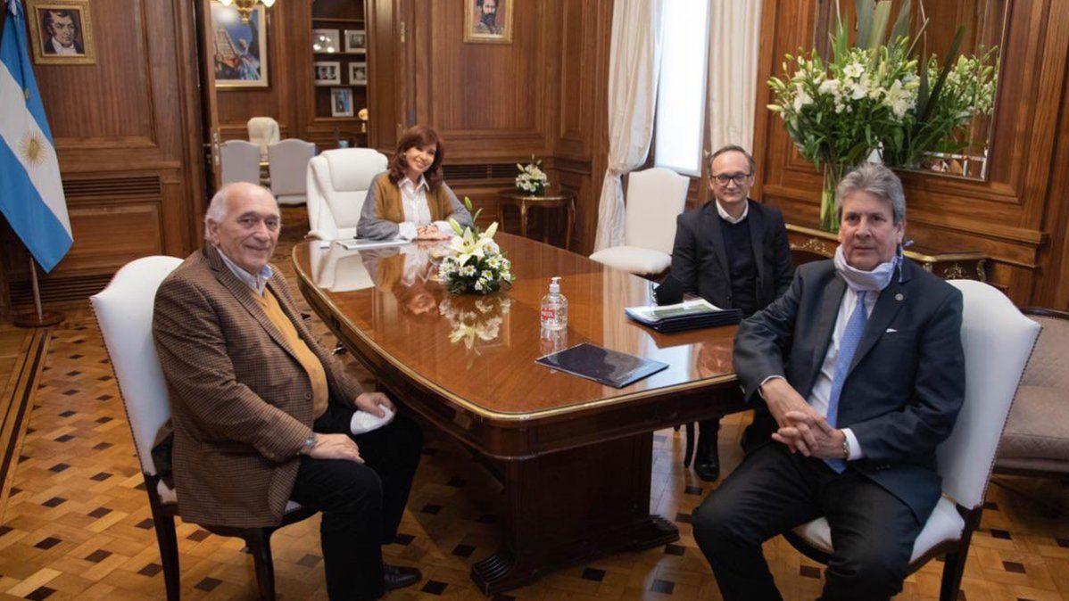Cristina Kirchner reunida con representantes delConsejo Agroindustrial Argentino