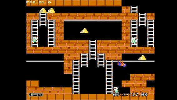 Uno de los niveles del clásico de Nintendo, mostrando toda su esencia.