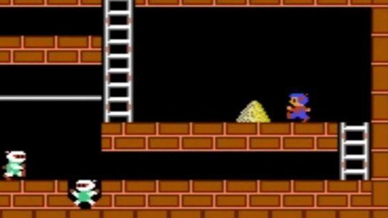 """Lode Runner """"reciclaba"""" los sprites del Bomberman, creado por al misma compañía: Hudson Soft."""