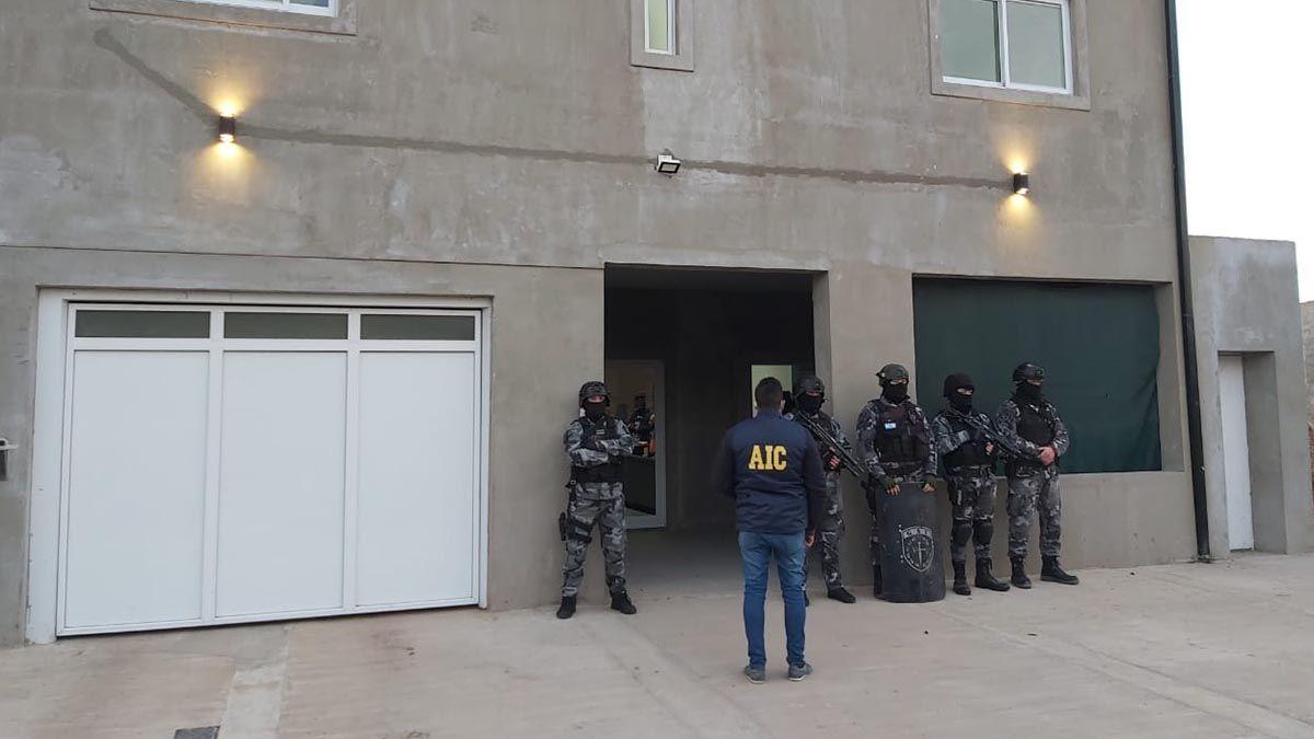 Los allanamientos fueron realizados en dos viviendas de Santo Tomé