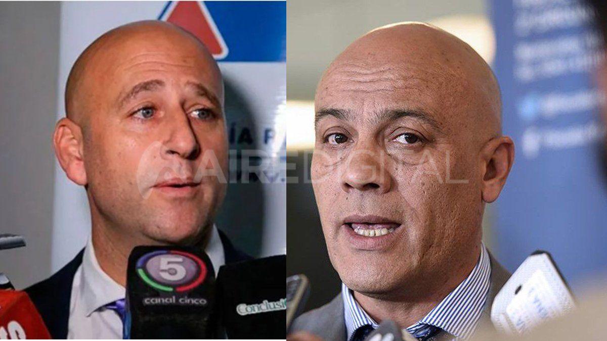 Los fiscales rosarinos Patricio Serjal y Gustavo Ponce están complicados en las investigaciones por cobro de coimas del juego clandestino.