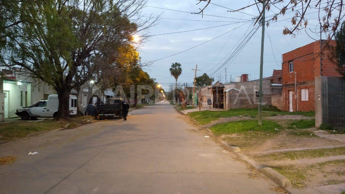 Entradera en el barrio Guadalupe oeste