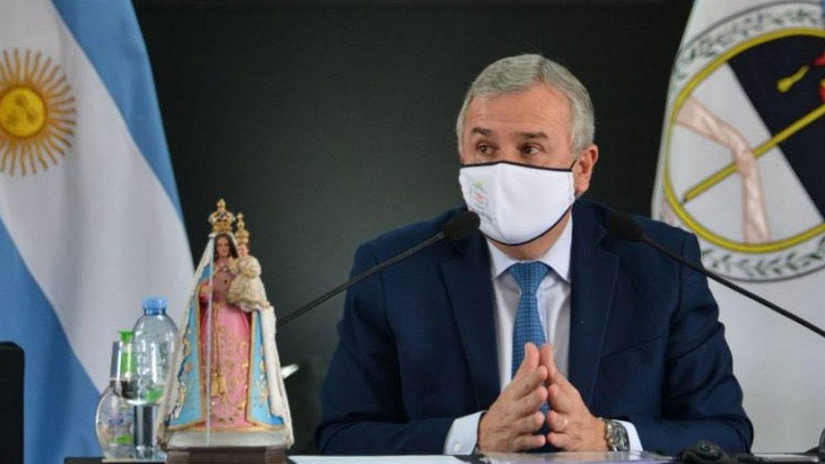 El gobernador de Jujuy