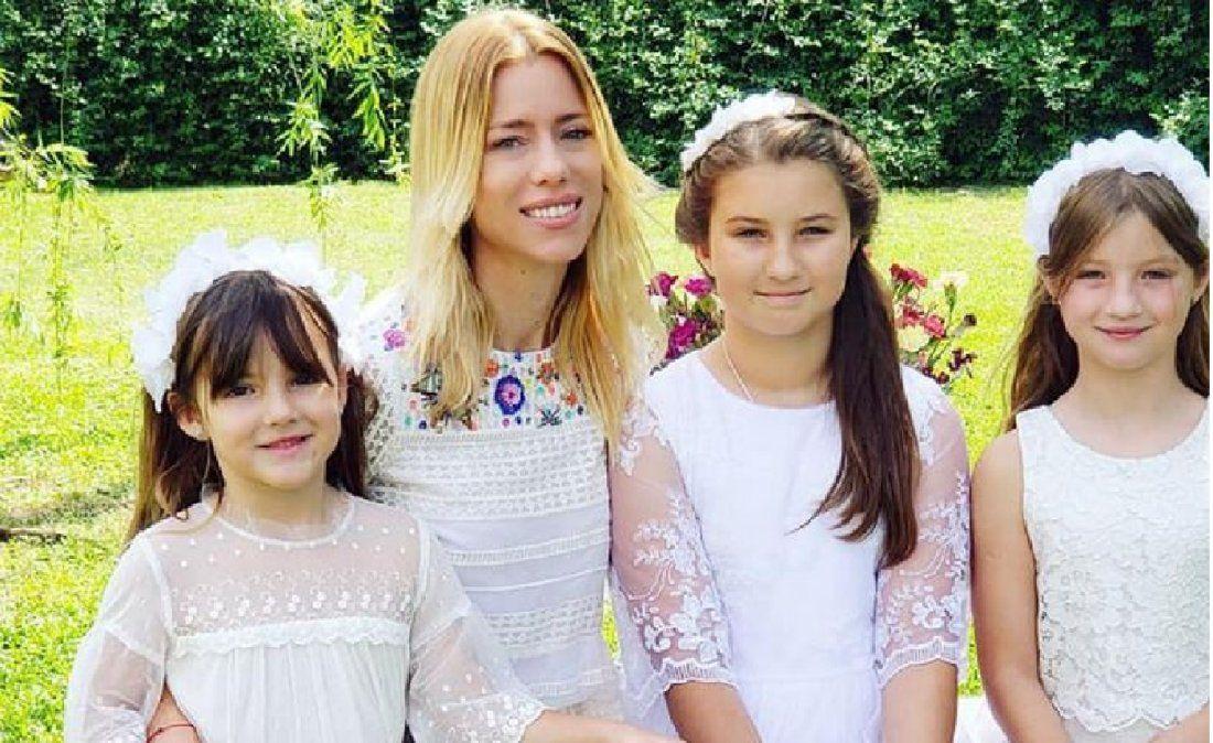 Aseguran que la hija mayor de Nicole Neumann tiene coronavirus