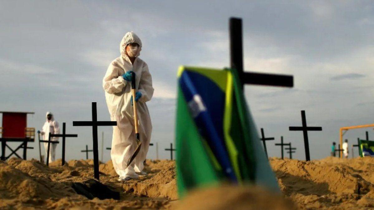 Brasil se acerca a los 100 mil casos de coronavirus.