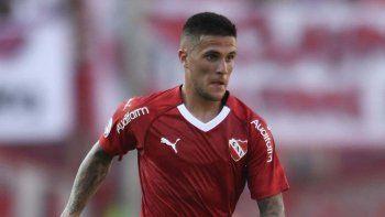 Fabricio Bustos, lateral de Independiente, fue diagnosticado con coronavirus
