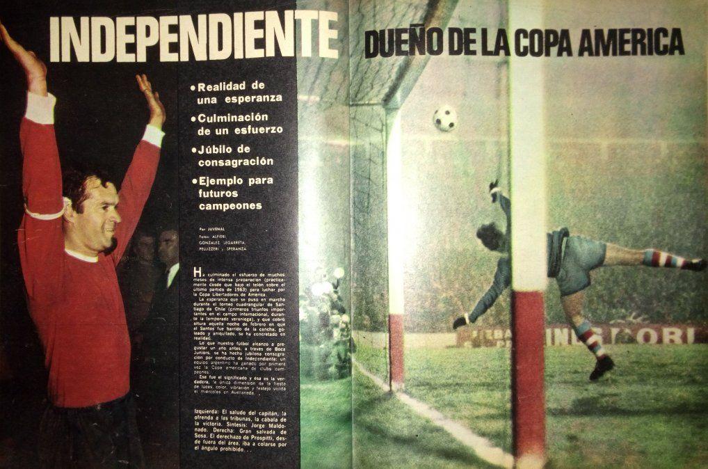 Independiente acaparaba todas las miradas en el fútbol argentino
