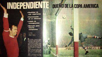 Independiente, a 56 años de conquistar su primera Libertadores