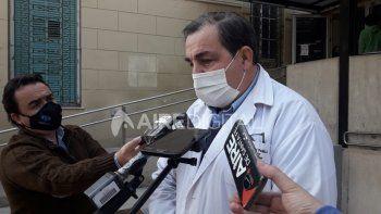 El doctor Juan Pablo Poletti es el director del Hospital Cullen.