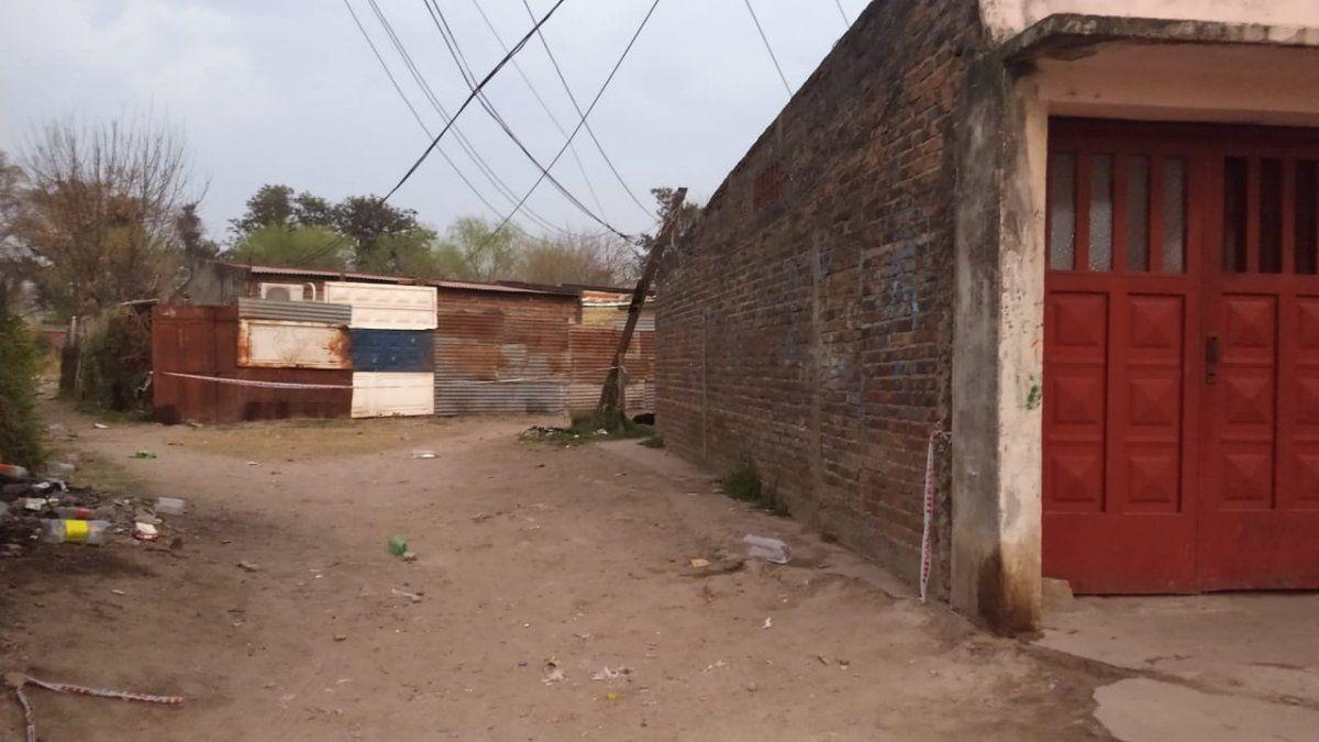 Pasaje Marsengo y Vieytes - el lugar donde ultimaron a Braian Díaz