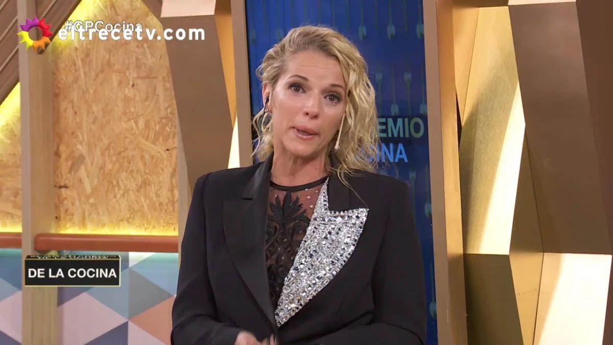 Carina Zampini seu quebró al aire tras la actitud de Dana furiosa por perder la final
