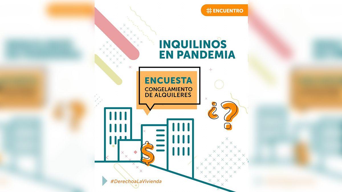 Inquilinos en pandemia: completá la encuesta sobre el congelamiento de alquileres