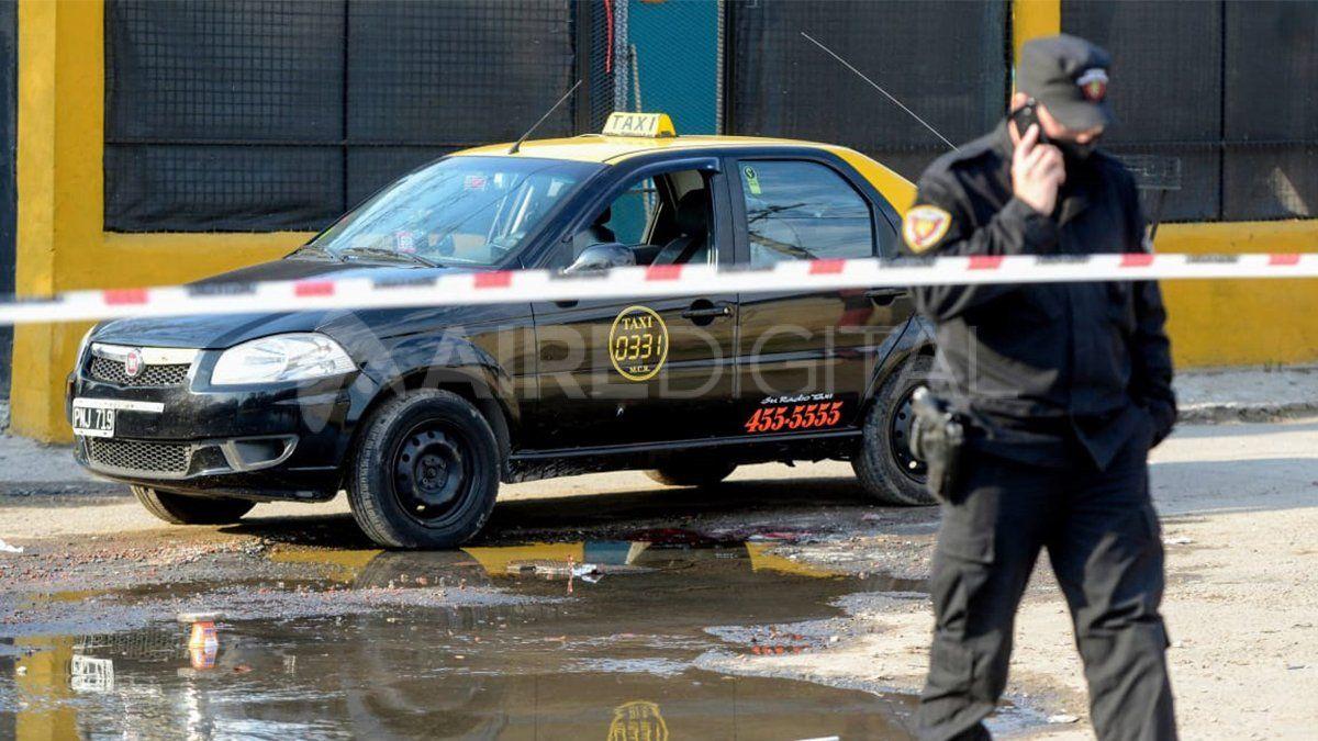 El taxista fue asesinado en Cavia y Larrechea