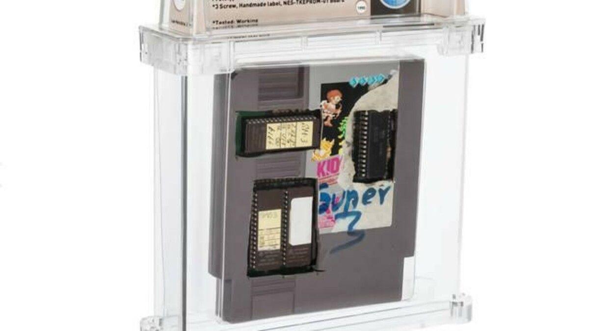 Este cartucho de la Nintendo NES se vendió en 31 mil dólares.