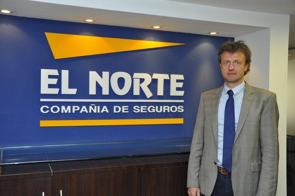 Dr. Julio César Scarafía, director Comercial Compañía de Seguros El Norte.