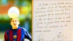 Hace 20 años, Lionel Messi llegaba a Barcelona, tras las negativas de Newells y River a hacerse cargo de su tratamiento de crecimiento.