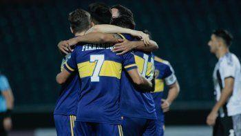 Boca venció a Libertad y es líder de su grupo de la Libertadores