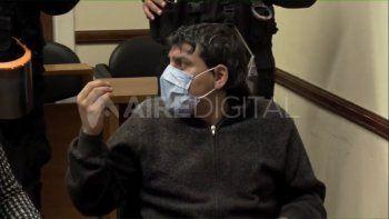 Chacho Cano interrumpió los alegatos de la sala y la jueza pidió que lo retiren de la sala