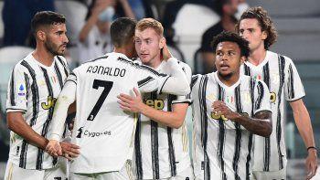Juventus fue implacable y comenzó la Serie A con un 3-0 sobre Sampdoria