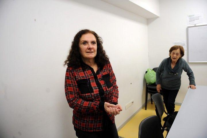 Raquel tiene 70 años y un diagnóstico de deterioro cognitivo leve. (Foto Lucia Merle)