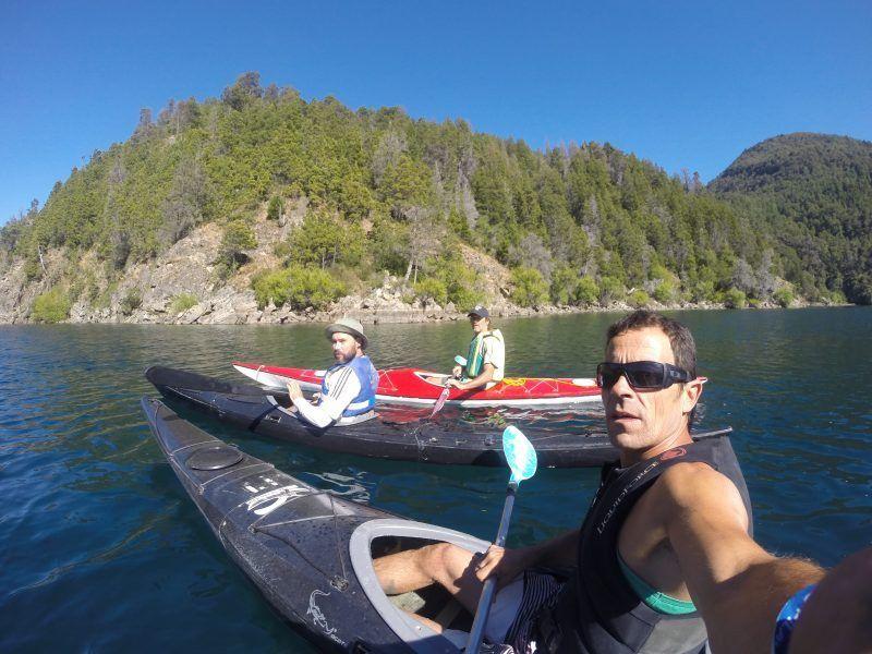 kayaks en lagos del sur