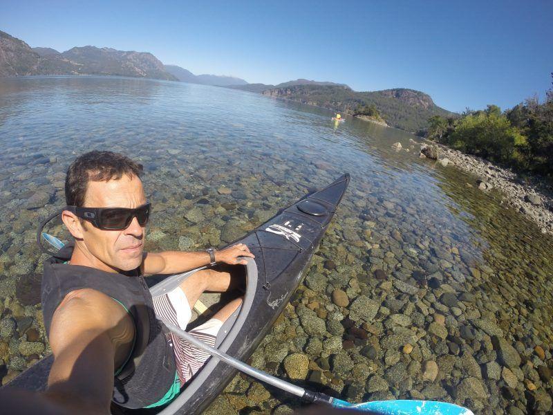 kayak en el sur