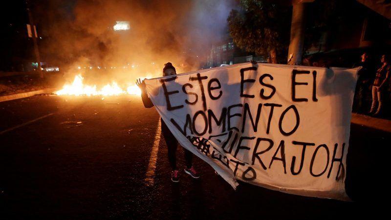 Tres muertos por la policía militar en Honduras tras manifestaciones contra el presidente