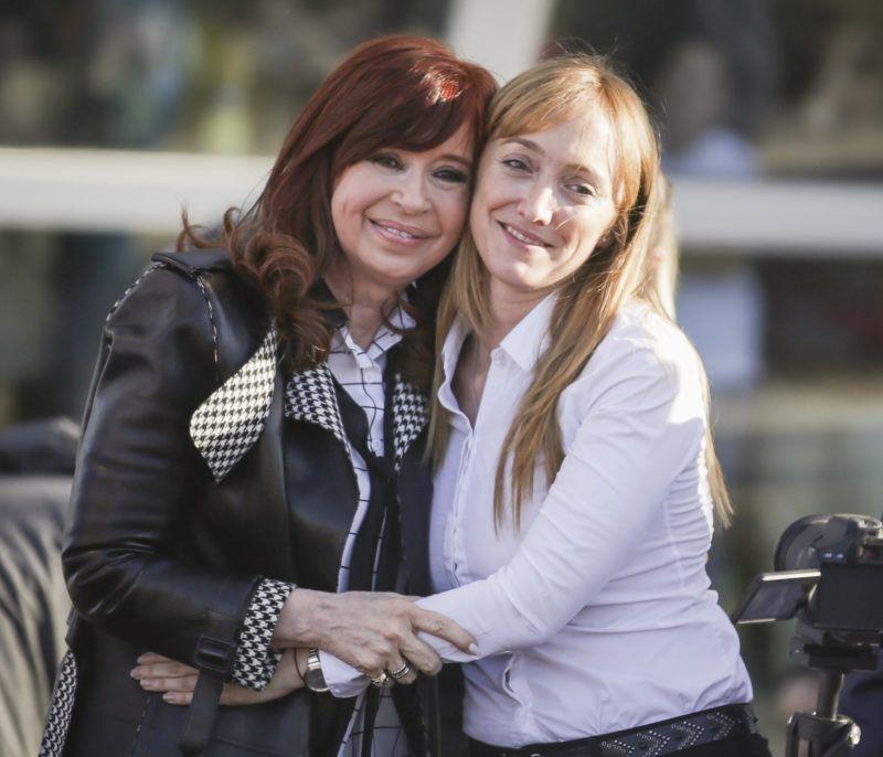 Cristina Kirchner y Fernández Sagasti