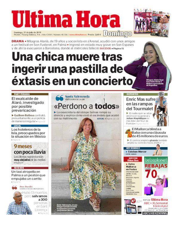 El diario mallorquín publicó que se está investigando lo sucedido
