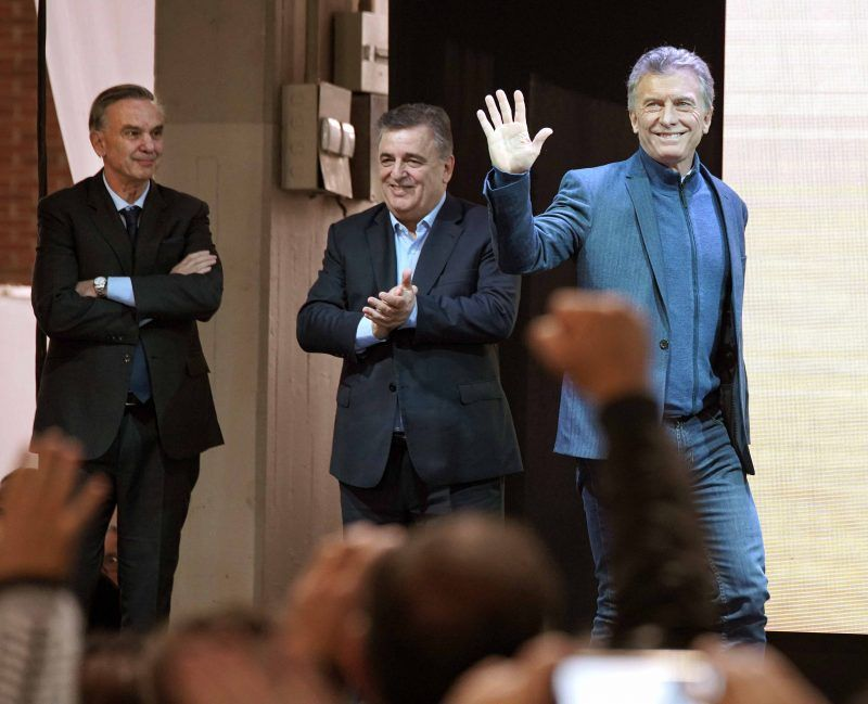 Macri, Negri y Pichetto en Córdoba