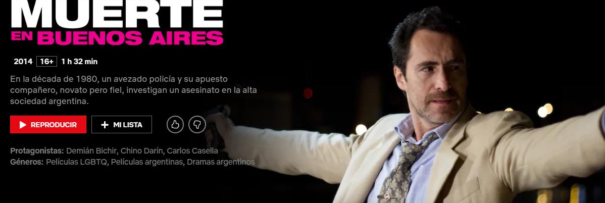 13 películas argentinas espectaculares que tenés ver en Netflix