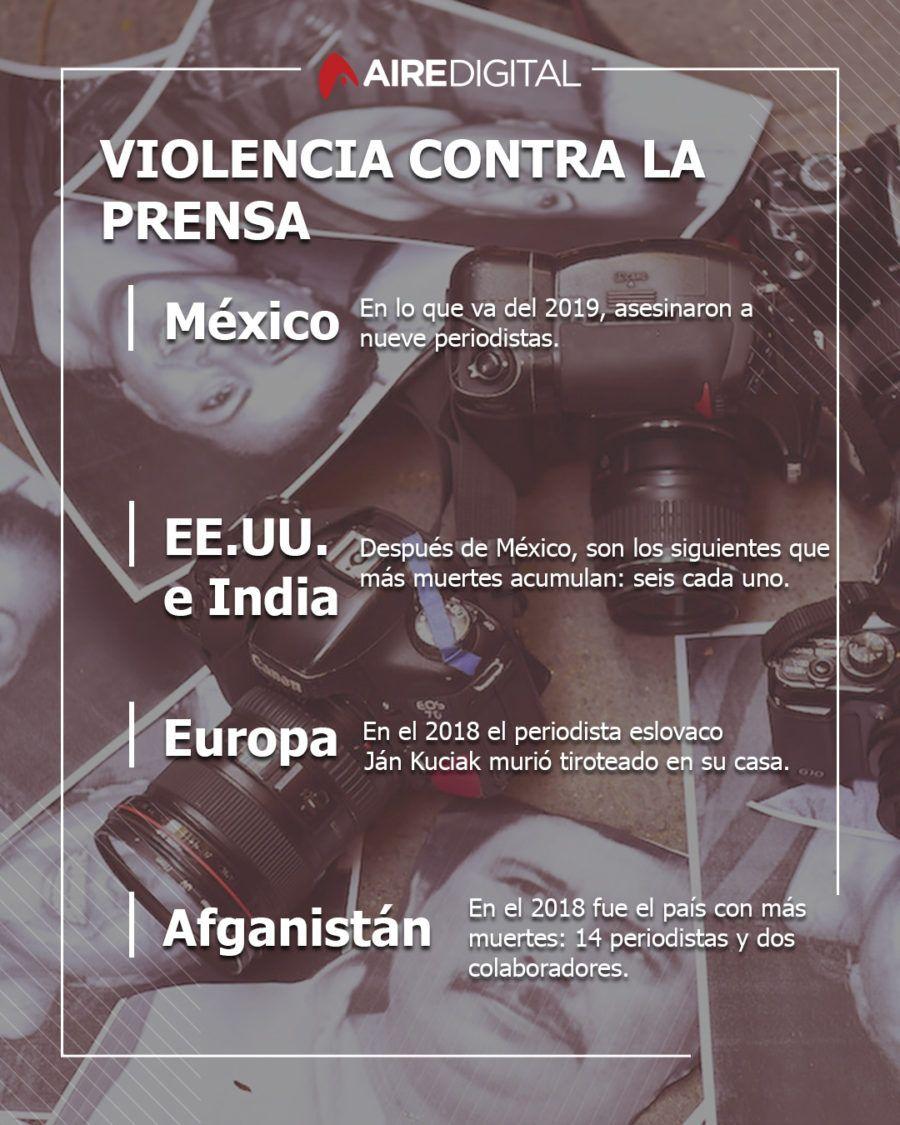 Información Reporteros Sin Fronteras.