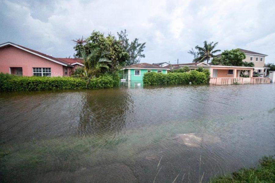 Dorian provocó grandes inundaciones.