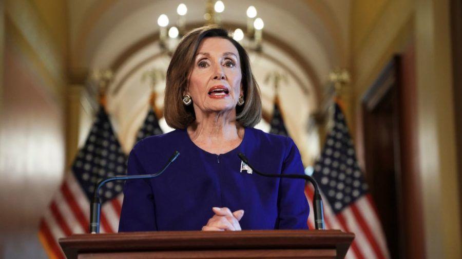 Nancy Pelosi, la demócrata presidenta de la Cámara de Representantes estadounidense.