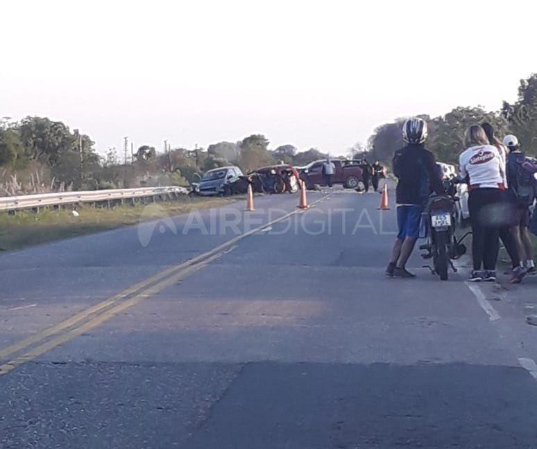 Triple choque en Laguna Paiva: dos mujeres murieron y un hombre se encuentra grave