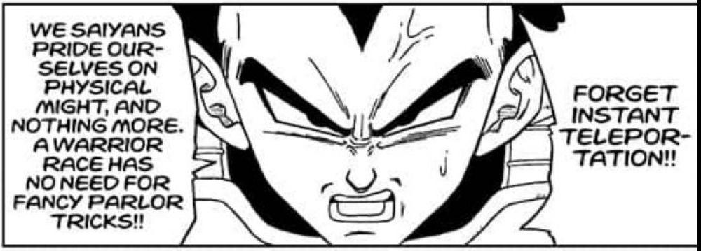 """El manga de """"Dragon Ball Super"""" revela por qué Vegeta nunca aprenderá la teletransportación"""