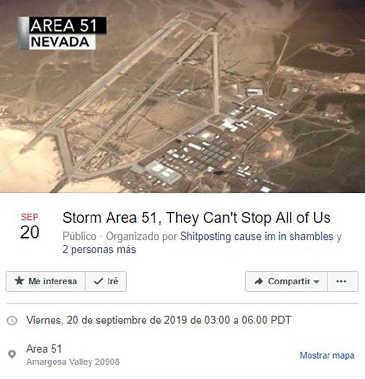 """El joven que convocó a """"asaltar"""" la base Área 51 y juntó un """"ejército"""" de más de un millón de usuarios reveló su identidad"""