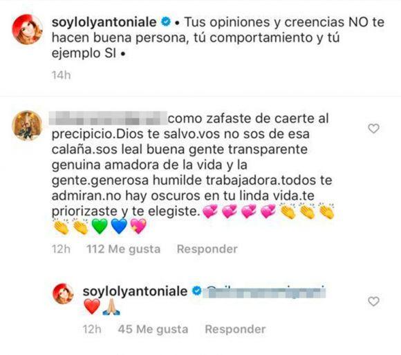 El fuerte tuit de Loly Antoniale contra ¿Jorge Rial?