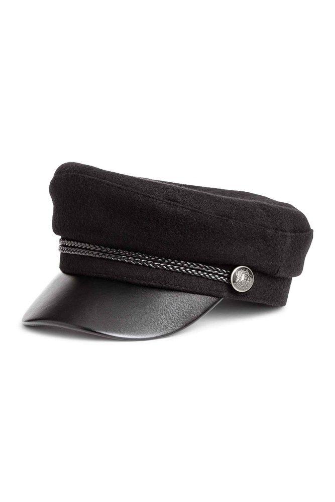 gorra marinera negra h&m chanel