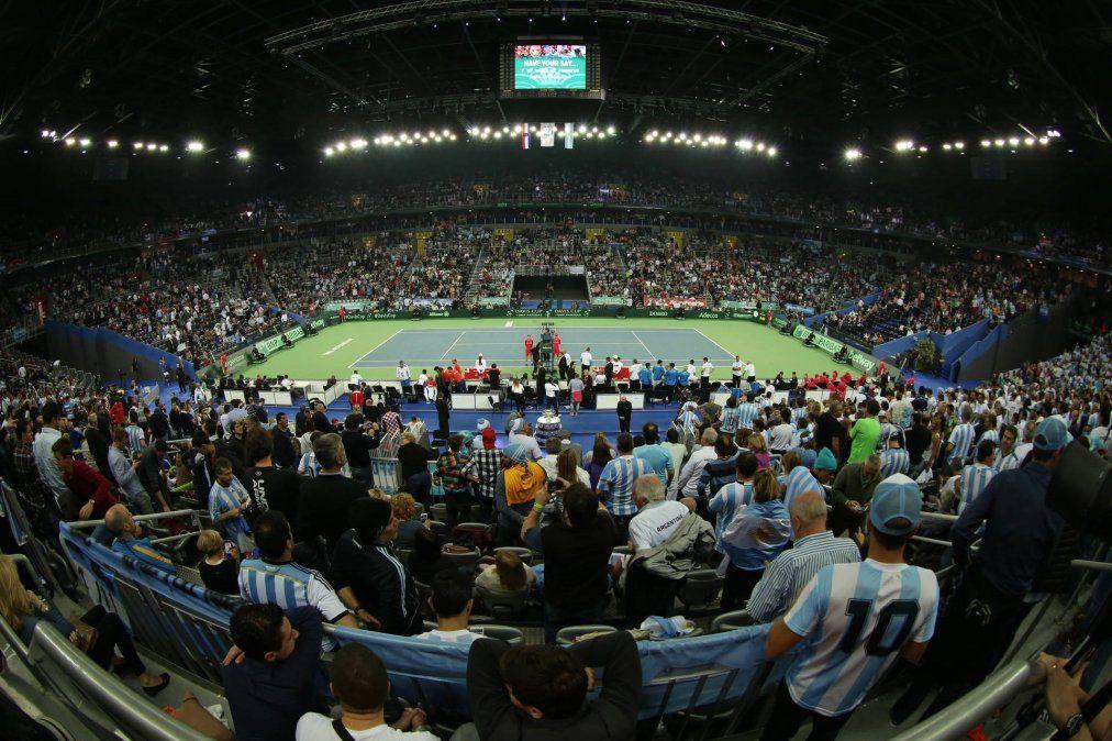 Argentina jugará la Copa Davis con público en Buenos Aires