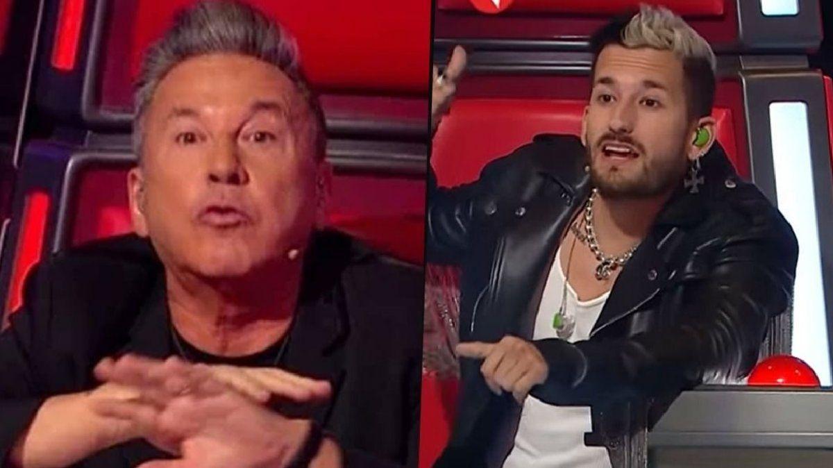 La Voz Argentina: Montaner retó a Ricky por un desubicado comentario