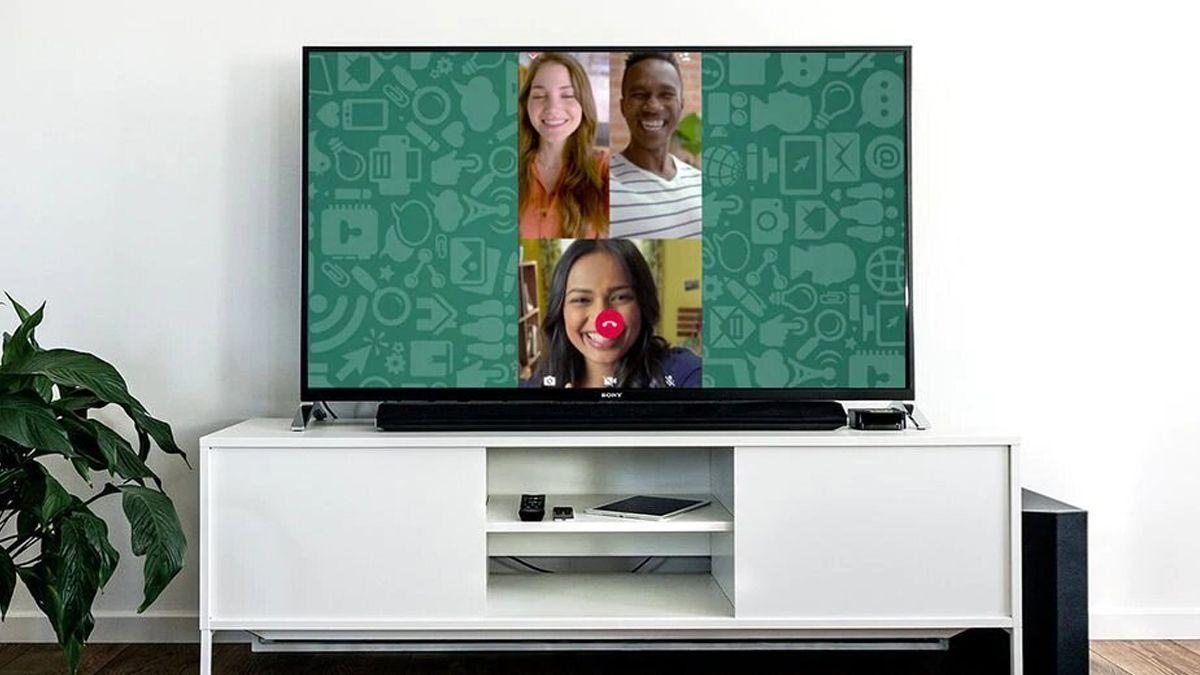 Cómo hacer videollamadas de Whatsapp a través del televisor