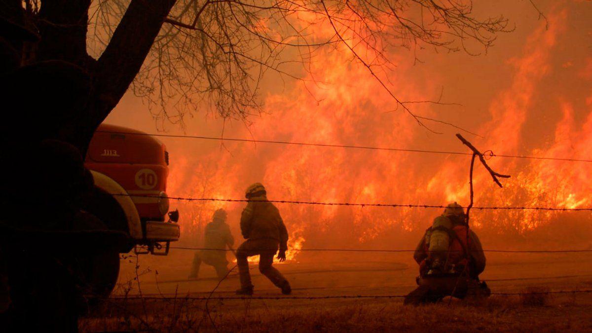 10 veces el tamaño de la ciudad de Buenos Aires tienen los incendios de Córdoba y ya se habla de ecocidio